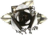 Konplott A Rose Is A Rose brooch - 5450527715133