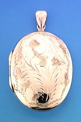 Ovaal medaillon gravé