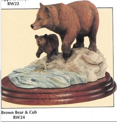 Brown Bear & Cub