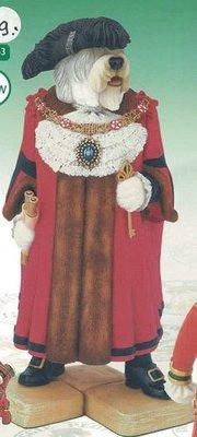 Old English Sheepdog Lord Mayor of London