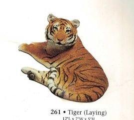 Tiger Laying