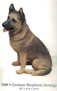 German Shepherd (Sitting)