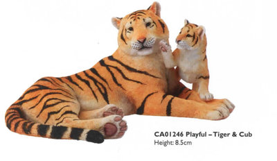 Playful - Tiger & Cub