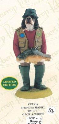 Springer Spaniel Fishing (liver & White)