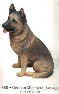 German Shepherd (Sitting)