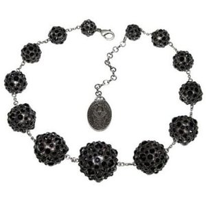 "04 Collier ""Spell on You"" Black 435161 - Konplott"