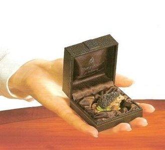 Hedgehog in luxury box