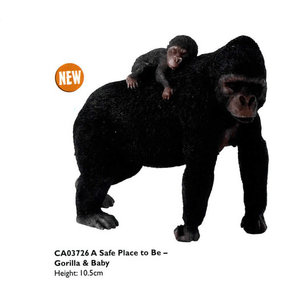 A Safe Place to Be - Gorilla with Young