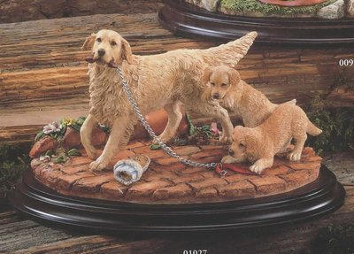 Double Trouble - Retriever with Pups