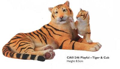 Playful - Tiger & Cub