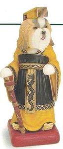 Gold & White Shih Tzu Chinese Emperor