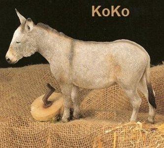 Donkey with millstone