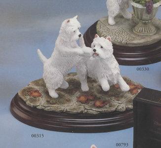 West Highland Terrier Pair