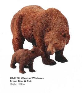 Words of Wisdom - Bear with Cub