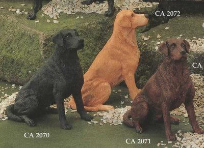 Labrador Sitting (Golden)