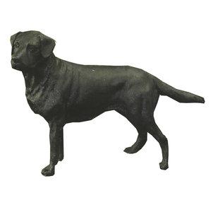 Labrador Standing Black