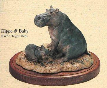 Hippo & Baby