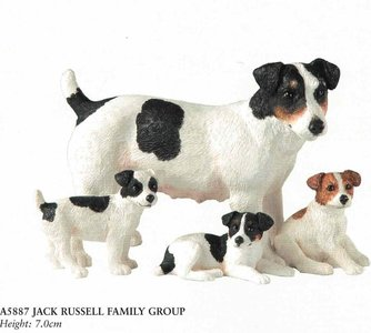 jack russell family group