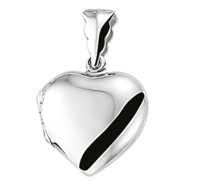 Hartvormig medaillon